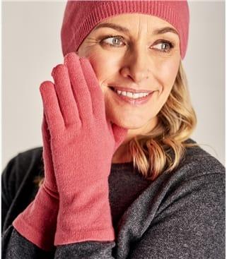 Перчатки из натурального кашемира