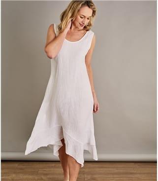 Womens Frill Hem Dress
