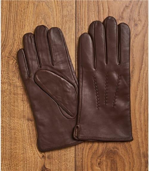 Weiche Handschuh aus Leder für Herren