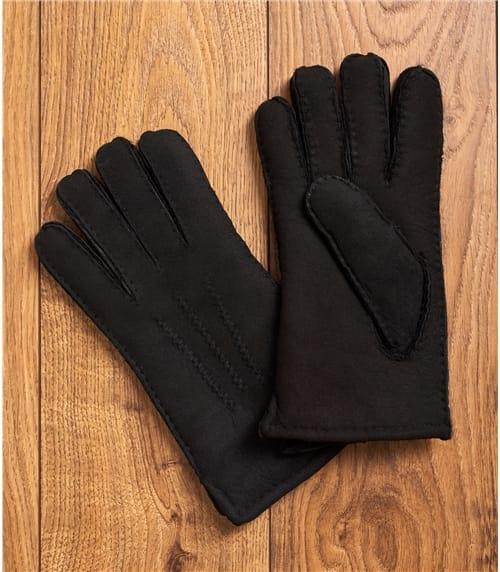 Мужские перчатки из овчины