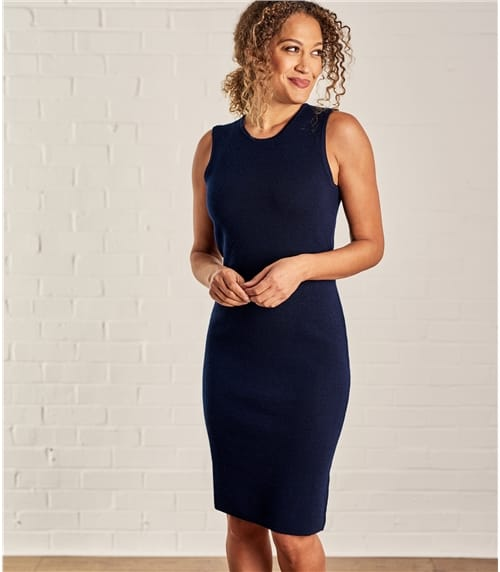 Womens Milano Sleeveless Dress