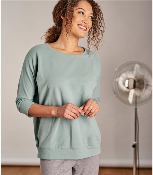 Womens Brushed Lounge Sweatshirt