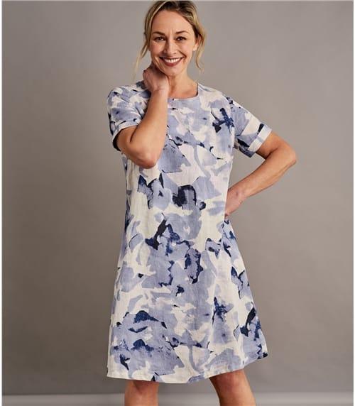 Платье – туника из льна