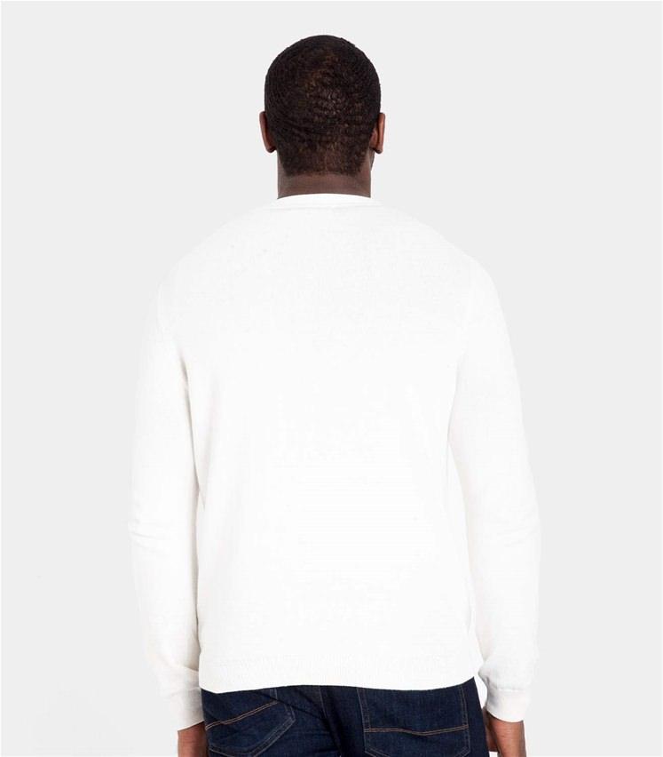 Mens Cashmere and Cotton V Neck Cardigan