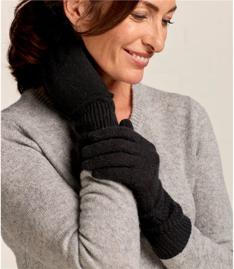 Womens Luxurious Pure Cashmere Hat