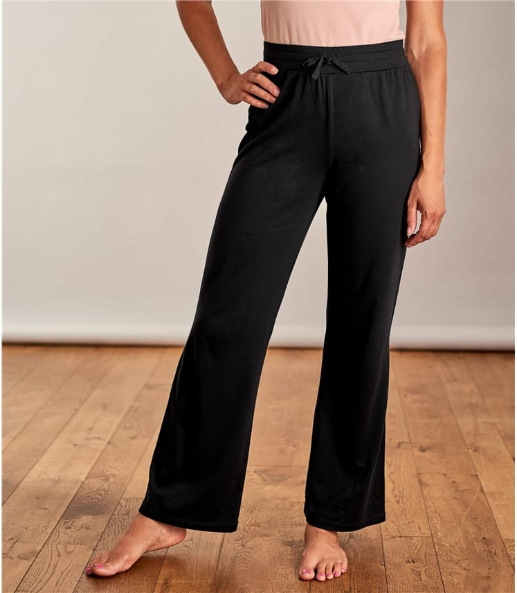 Женские трикотажные брюки