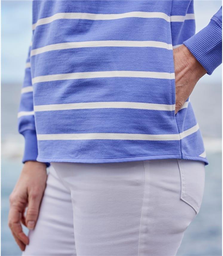 Womens Half Zip Sweatshirt