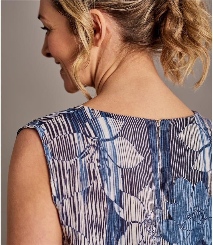 Womens Linen Shift Dress