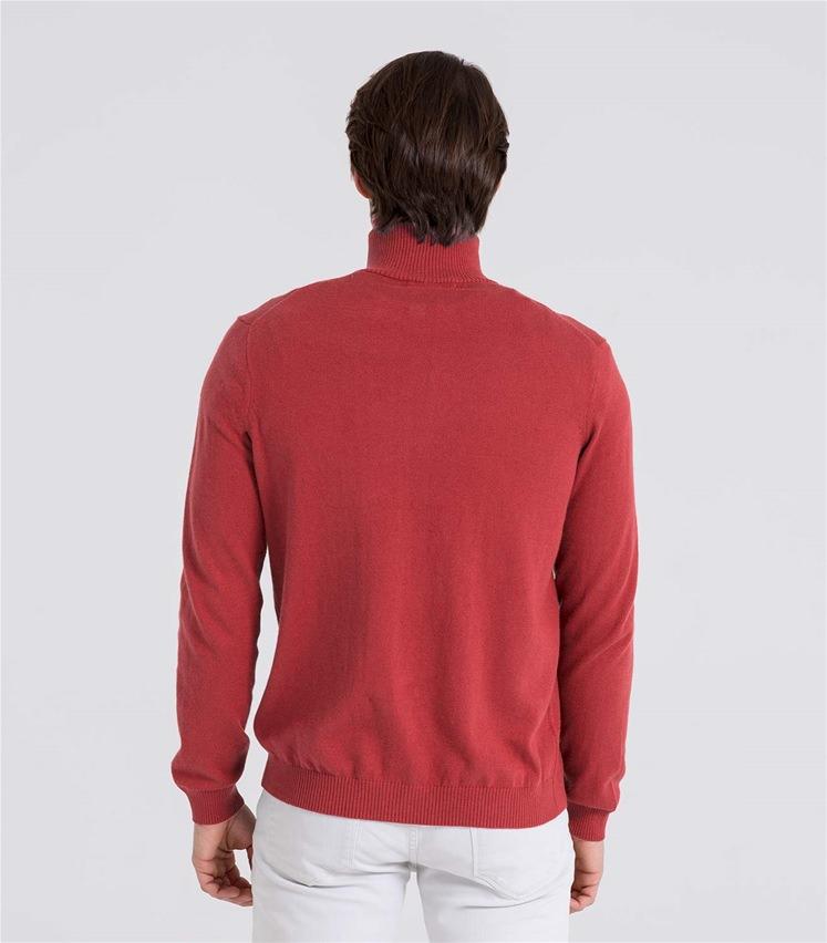 Mens Cashmere and Cotton Zip Through Cardigan